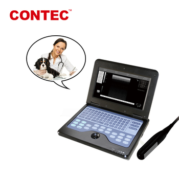 Qinhuangdao CONTEC CMS600P2-VET potable veterinary ultrasound equipment china