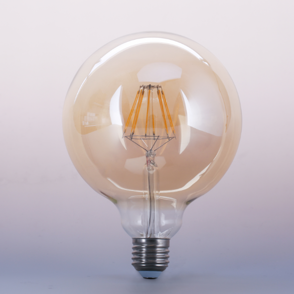 Antique Filament Edison Light Bulb ST64 A19 G45 G80 G95 G125 led bulbs amber led filament light bulb e27