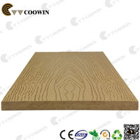 Exterior composite wall decorative panel