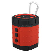 Key chain design bluetooth V4.0 subwoofer car hand free outdoor sports mini portable wireless speaker with 3d surround