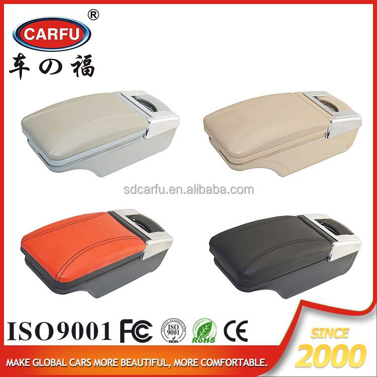 2016 Carfu hot sell best price car parts multipurpose console box seating door armrest applicable to universal