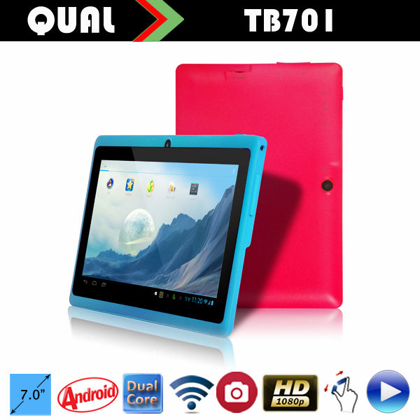 q88 7inch tablet A13 single core tablet pc with USB port full 1080P Dual Core two Camera Android 4.4 Q