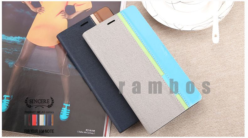 Leather Wallet Card Flip Case Cover Skin for Blackberry Pearl 9105