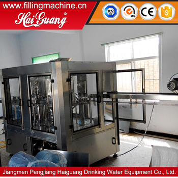 Factory wholesale drinking pure water bottling plant/water container bottling machine