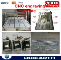 CNC engraving frame,CNC 6090 frame with axle clamp for cnc 6090,Also have other Model:3030,3636,6060,