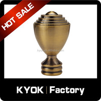 KYOK double curtain rods wholesale & curtain rod accessories factory,curtain rod window drapery hardware