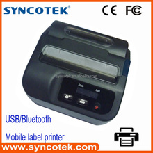 mobile phone usb bluetooth portable 3 inch thermal label printer