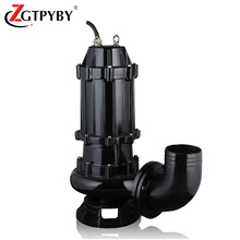 heavy duty sump pump systems 22kw non clog sewage submersible 10 inch trash pump