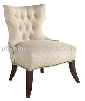 Button wing back lounge PFC757