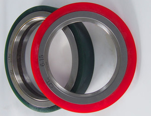 Rubber Bonded Ring For Slitting Processing Line