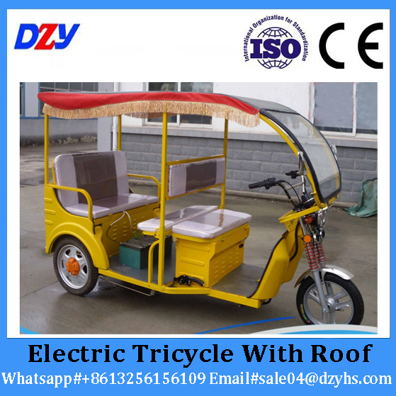 AC Motor 3 Wheel Electric Tricycle Electric Personal Transport Vehicle