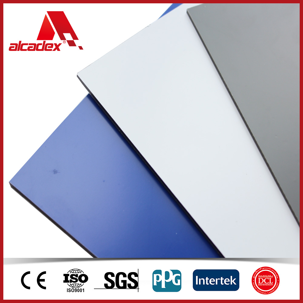 wall cladding solid colour aluminum composite panel building material