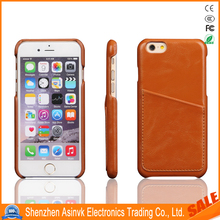 Classic Lagging Grain Leather Rear Cabint Card Slot Case for iPhone 6S/6 Plus