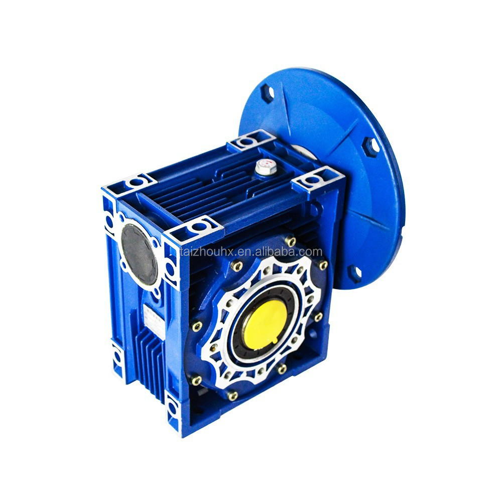 Wj / NRV/Nrw /nmrv090 Right Angle mounted speed reducer Reduction reductor worm drive Gearbox for conveyor