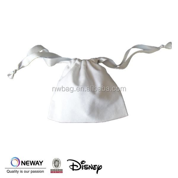 2015 dust bag/drawstring bag/drawstring flannel cotton pouch