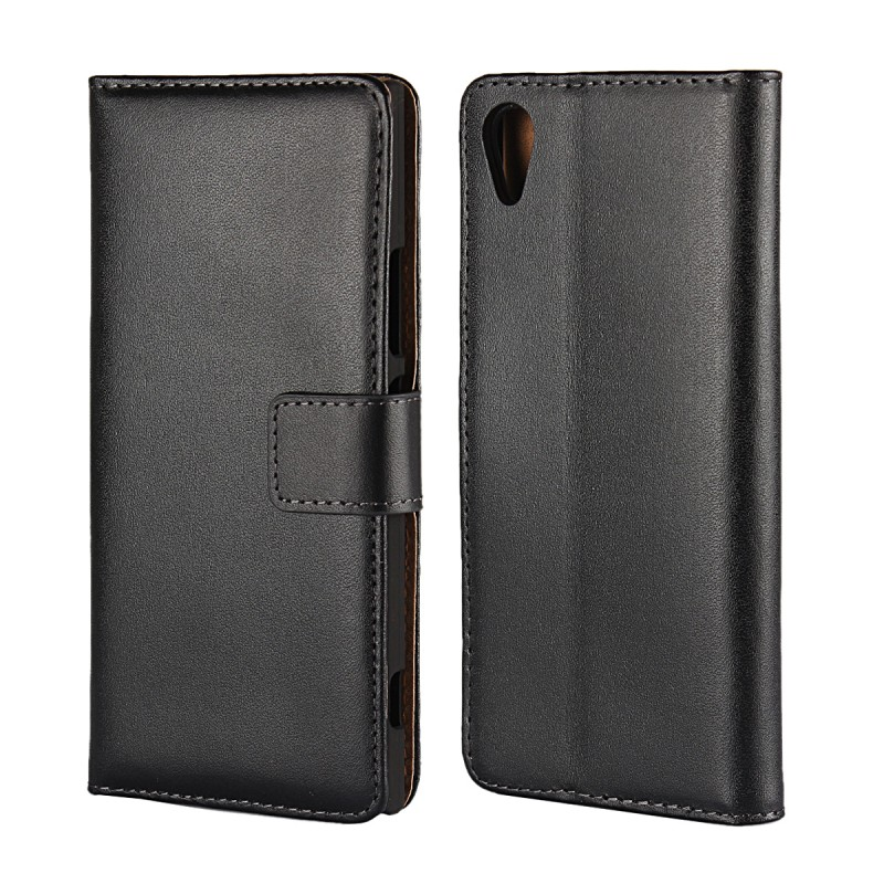 Phone Accessories Coque Cara Funda Regenerated Leather Wallet Case for Sony Xperia XA1 Flip Cover