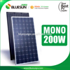 Mono or poly 200watt 200wp 200w 30v solar panel pv module