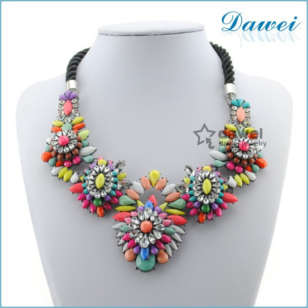 2014 Wholesale Cheap Fashion Jewelry With Crystal Flowers Decoration For Women
