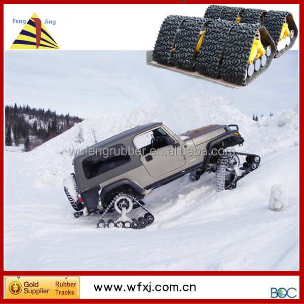Pick-up Tractor / Truck / SUV track conversion systems