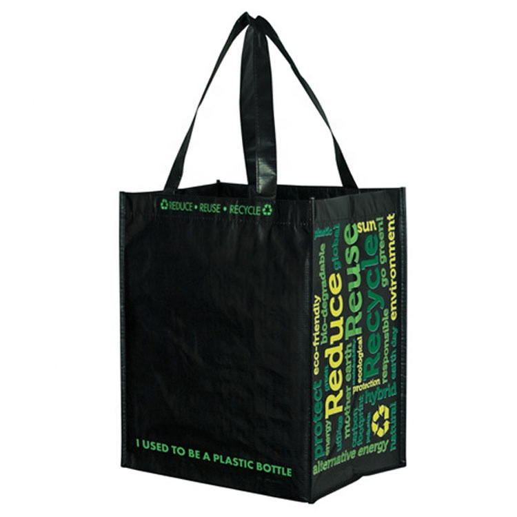 Multifunctional Promotional Cheap Custom Glossy Laminated Souvenir Non Woven Bags With tote