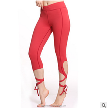 Compressed Yoga Leggings Dry Fit Yoga Pants Custom Made Sports Tights For Women
