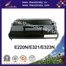 (CS-LE220) BK laser toner cartridge ceramic toner for Lexmark 12S0400 12A7305 E220 E220N E321 E323 E323N (6000 pages)