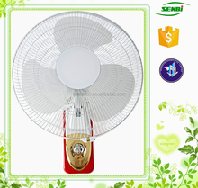decorative magnificent electric 16 inch 12v dc solar wall mounted electric fans