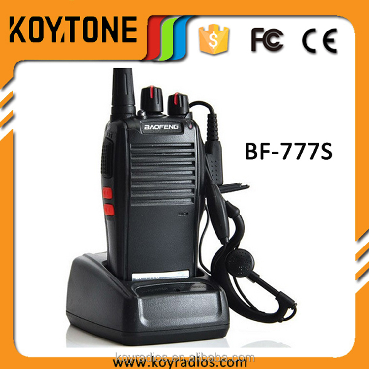 Baofeng 5W UHF VHF Handheld Walkie Talkie Mobile Phone Two Way Portable Radio BF-777S For Tour Guide Equipment