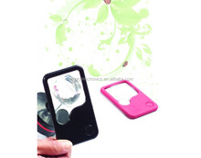 Promotion Gift tweezer magnifier with led light