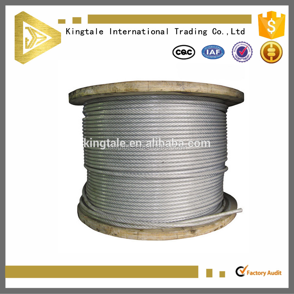 Kingtale Factory Offer Stainless Steel Wire Rope