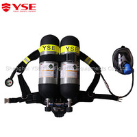 Self-contained Msa carbon fiber breathing apparatus