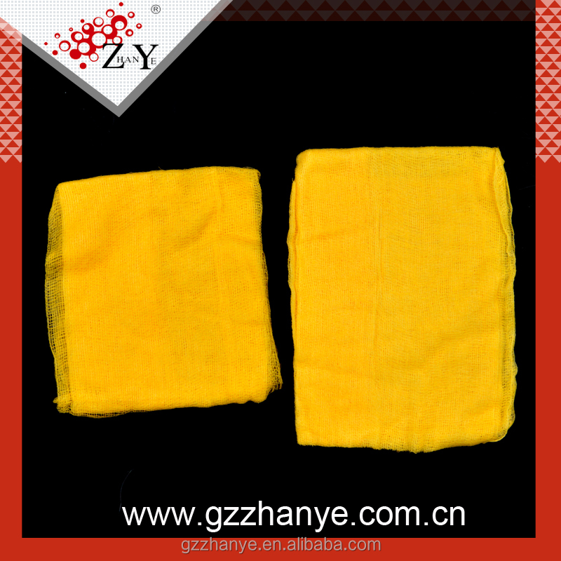 Cotton tack cloth for car cleaning