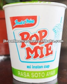 INDONESIA ORIGIN INSTANT NOODLES POP MIE
