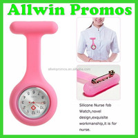Top Quality Silicone Nurse Watch/Nurse Fob Watch/Wholesale Nurse Pin Watch