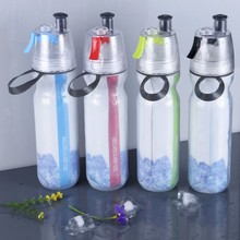 Promotional gym gift mist water bottle different types of spray mist bottle