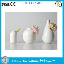 China style home decoration items various ceramic Types of Flower Vase