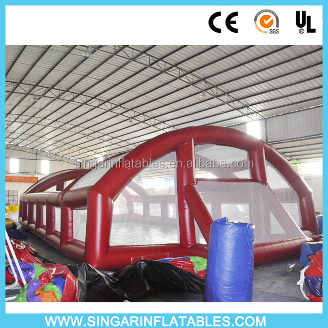 Best selling inflatable football soccer field,giant inflatable playgrounds