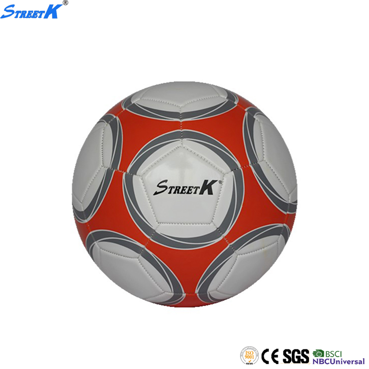Streetk Brand champion soccer ball factory china wholesale butyl rubber football bladder