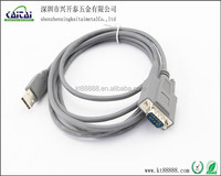 usb to rs232 adapter.USB 2.0 to DB9 male cable connector