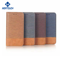 for iphone X wallet leather case , stand bookstyle leather + soft TPU shell mobile phone case for iphone 8