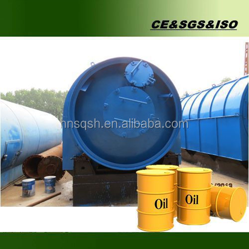 Highest profitable project automatic tyre oil production line