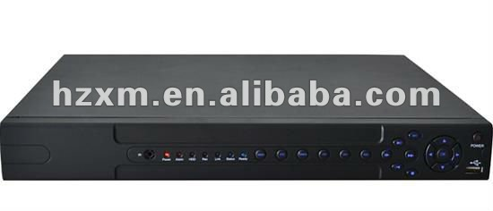 16ch Digital Video Recorder H.264 Compression standalone D1 DVR support IP search/ IP right management/ DDNS/ NTP/ DHCP/ PPOE
