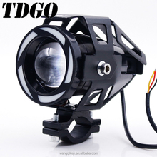 New Product With Five Color Angel Eyes Devil Eyes Motorcycle Led Drl Light