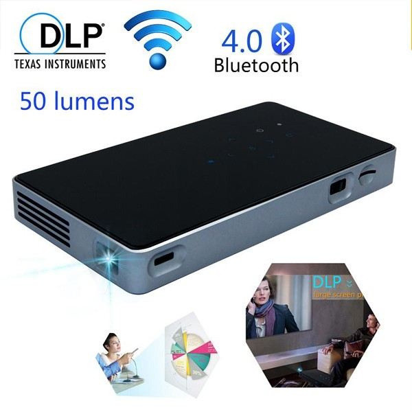 micro projector module P8 Laser Dlp Android Mini Full HD 1080P 3D Led Portable Pocket Home Theater Projector