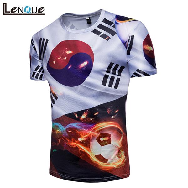 North Korea Soccer Shirt 2018 Russia World Football Team Cup