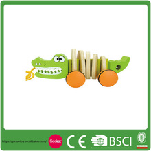 Eco-friendly Crocodile Children Educational Toy Enlighten Brick Toy for Kids