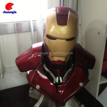 Iron Man Statue, Iron Man Bust ,Iron Man Bust Figure with light Effect