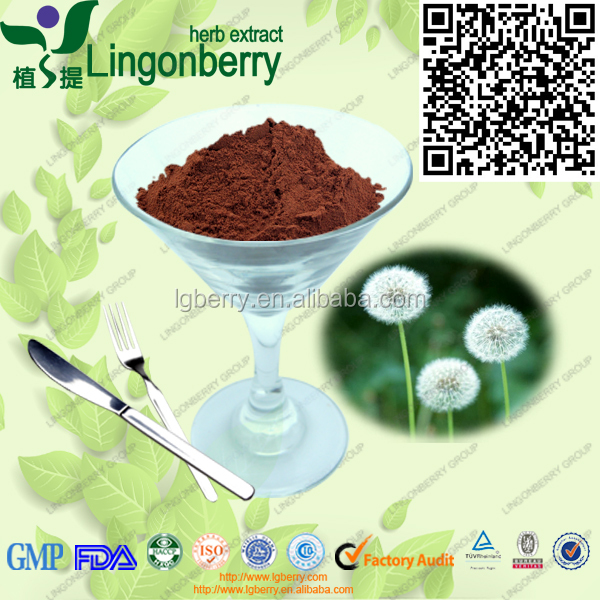 natural and pure 4:1 10:1 20:1 ratio extract dandelion extract