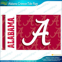 Alabama Crimson Tide flags