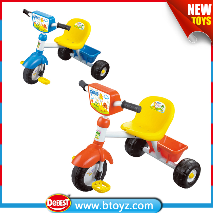 three wheels funny ride on car kids tricycle with light and sound